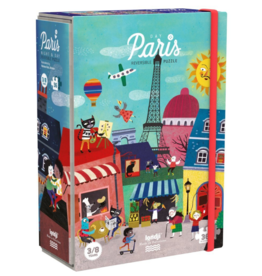Night & Day in Paris Reversible Puzzle - 36 Pieces