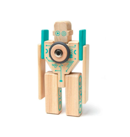 Magbot Magnetic Wooden Blocks Toy