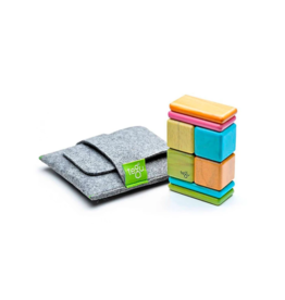 Original Pocket Pouch Magnetic Wooden Blocks: Tints