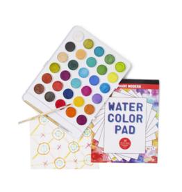 Wondrous Watercolor Kit (Set of 30)