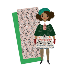 Noelle Mailable Paper Doll