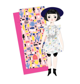 Olive Mailable Paper Doll