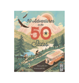 50 Adventures in The 50 States by: Kate Siber