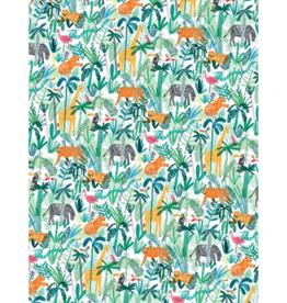 Jungle Animals Gift Wrap