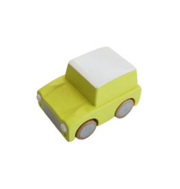 Kuruma Wind-Up Car - Yellow