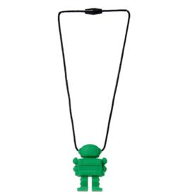 Juniorbeads Spaceman Pendant - Green