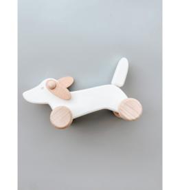 Bajo Wooden Dachshund Puppy