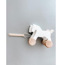Bajo Wooden Jumping Horses Pull Toy