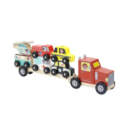 Truck & Trailer Stacking Game