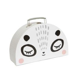 Double Face Suitcase: Mr. & Mrs. Panda