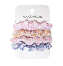 Picnic Check Mini Scrunchies