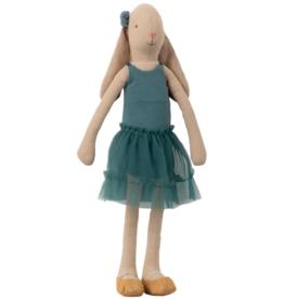 Bunny Ballerina, Petrol - Size 3
