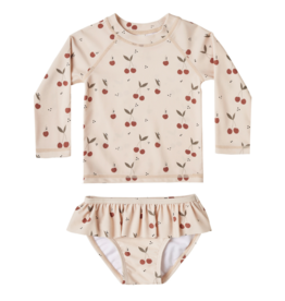 Cherries Rashguard Set