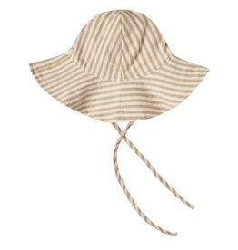 Striped Floppy Baby Hat