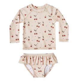 Cherries Rashguard Baby Set