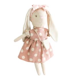 Sofia Bunny Pink Linen