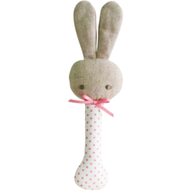 Baby Bunny Stick Rattle
