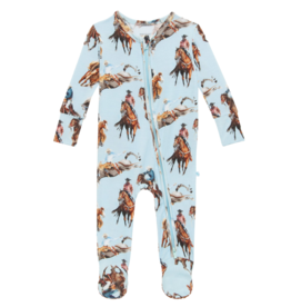 Brody Footie Zippered One Piece