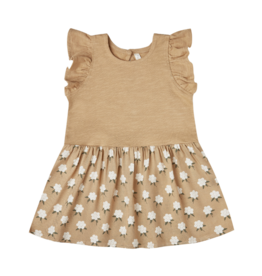 White Flora Coury Baby Dress