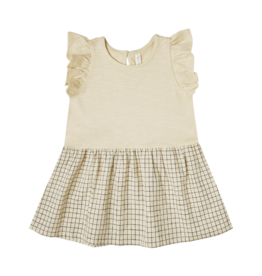Grid Coury Dress