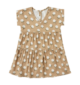 White Floral Vienna Baby Dress