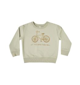 Bike Terry Baby Sweatshirt