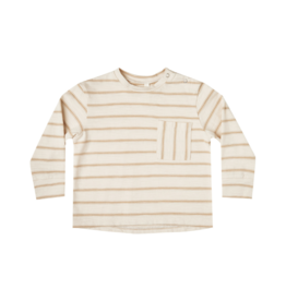 Striped Longsleeve Skater Baby Tee