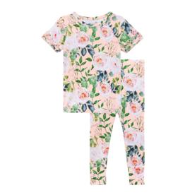 Harper Ruffled Short Sleeve Pajamas