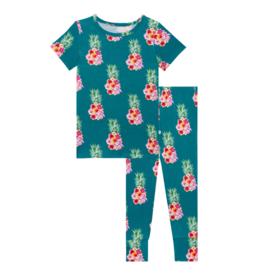 Ananans Short Sleeve Pajamas