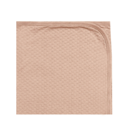 Pointelle Baby Blanket - Petal