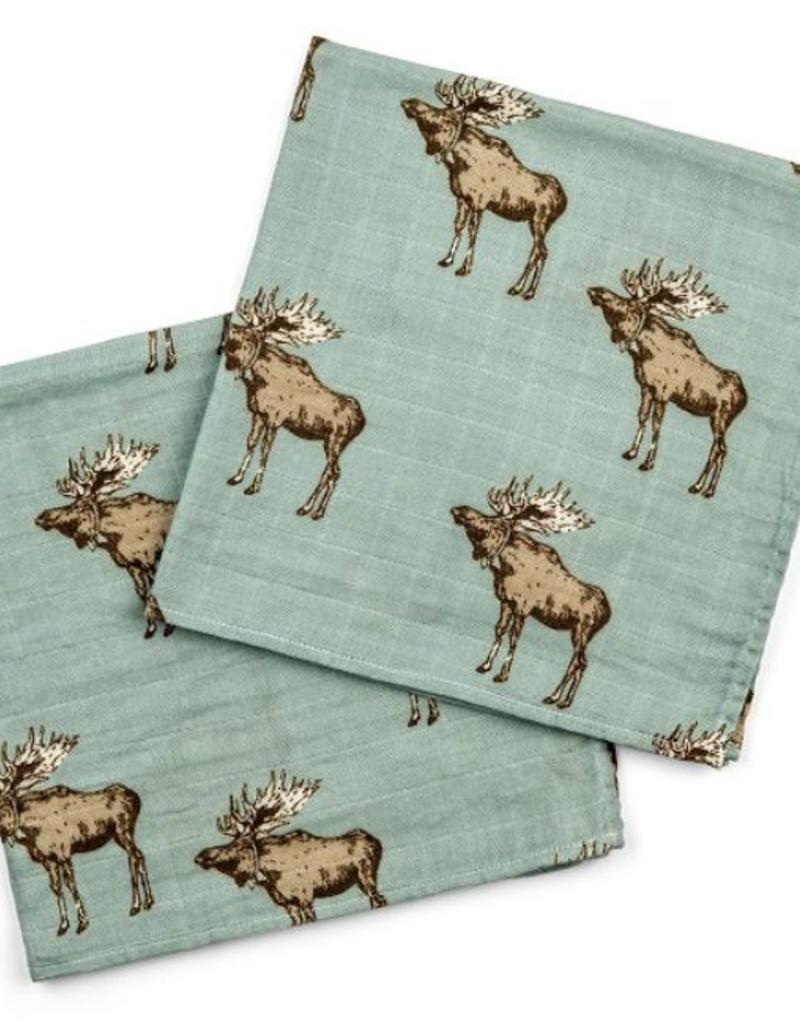 Bamboo Burpies in Bow Tie Moose