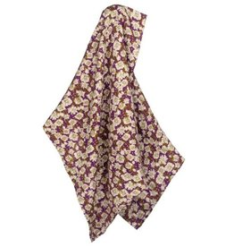 Bamboo Swaddle in Purple Floral