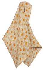 Bamboo Swaddle in Grey Floral