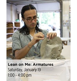 NCC Lean on Me: Armatures for Sculpture