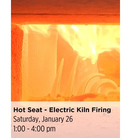 NCC The Hot Seat - Kiln Firing 101 (Electric Only)