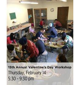 NCC WAITLIST: 15th Annual Valentine's Day Workshop