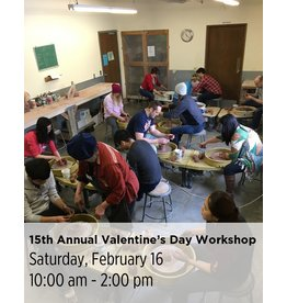 NCC SOLD OUT: 15th Annual Valentine's Day Workshop