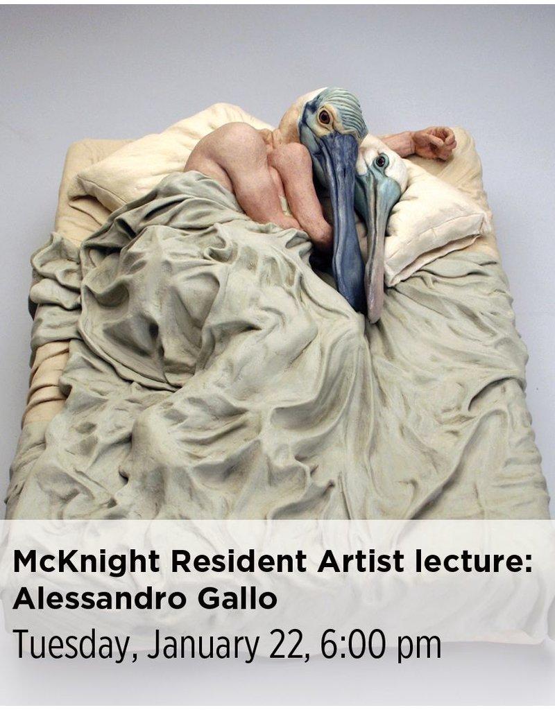 NCC McKnight Resident Artist Lecture: Alessandro Gallo
