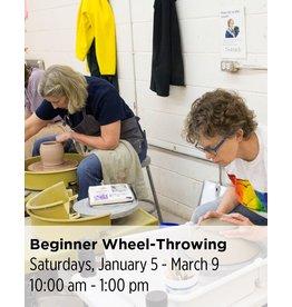 NCC Waitlist: Beginner Wheel-Throwing