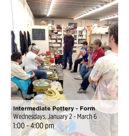 NCC Intermediate Pottery - Focus on Form & Function