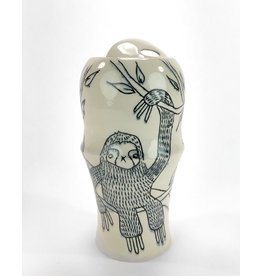 Tricia Schmidt Sloth Travel Mug