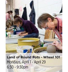 NCC WAITLIST: Land of Round Pots - Wheel Throwing 101