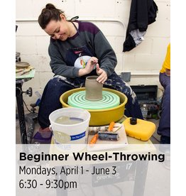NCC WAITLIST: Beginner Wheel-Throwing