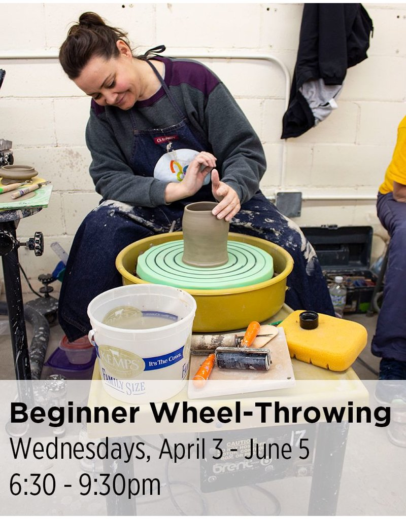 NCC Beginner Wheel-Throwing