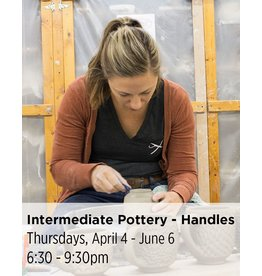 NCC SOLD OUT: Intermediate Pottery - Focus on Handles
