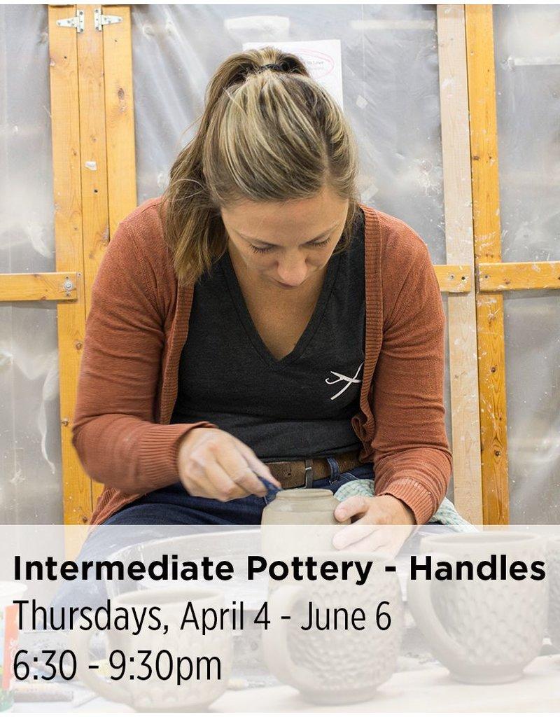 NCC Intermediate Pottery - Focus on Handles
