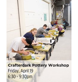 NCC CANCELLED: Crafterdark Pottery Workshop