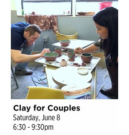 NCC SOLD OUT: Clay for Couples Pottery Workshop