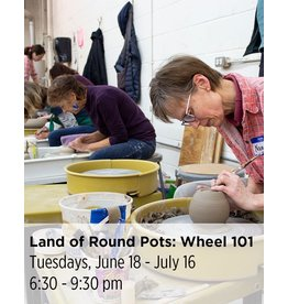 NCC WAIT LIST: Land of Round Pots - Wheel Throwing 101