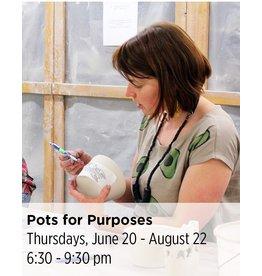 NCC Pots for Purpose